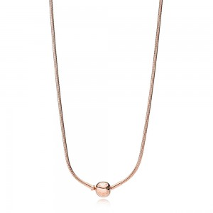 Collier ESSENCE en PANDORA Rose