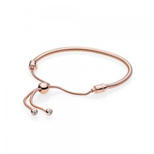 Bracelet Coulissant Moments en PANDORA Rose*