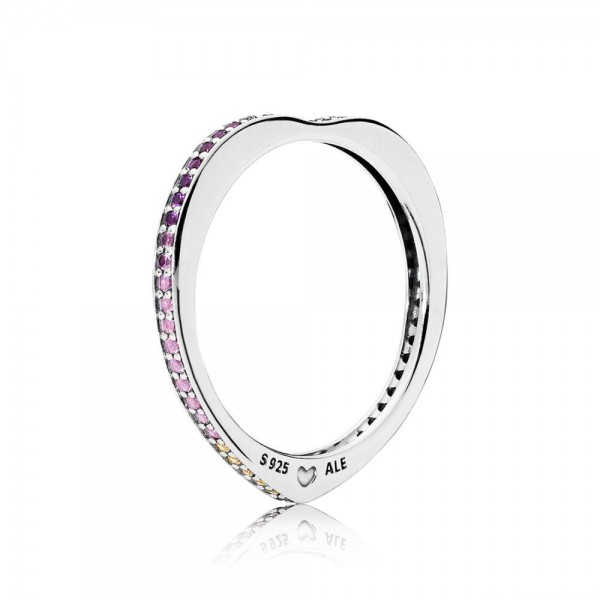 Bague Arc de l'Amour Multicolore