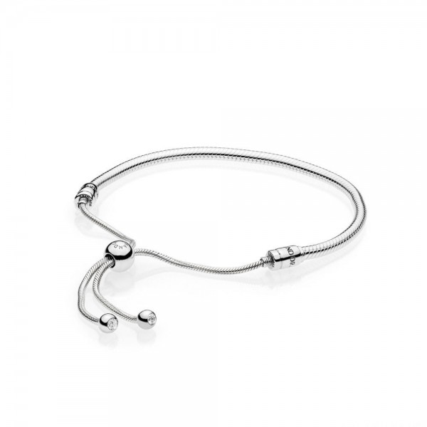 Bracelet Coulissant Moments en Argent